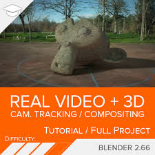 tutorial blender tracking camera tracking 3d real video compositing blendtuts com