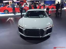 Audi R8 Grey - la auto show 2016 audi r8 v10 plus exclusive edition with
