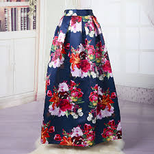 find more skirts information about women floral maxi skirt