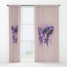 crazy window curtains society6