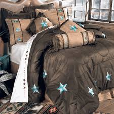 Turquoise And Brown Bedding Sets Western Bedding Full Size Turquoise Laredo Bed Set Lone Star