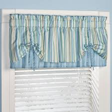 clearwater coastal striped window treatment