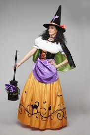 vintage witch costume for women chasing fireflies