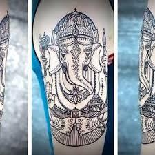 awesome phoenix on back tattoo idea