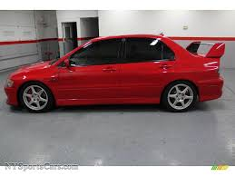 2003 mitsubishi lancer evolution viii in rally red photo 6