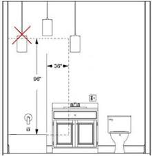 bathroom lighting code requirements recessed lighting guide how to select housing and trim lights