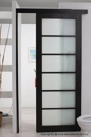 bathroom door designs looking frosted sliding single bathroom doors for minimalist