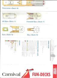 carnival conquest deck plans cruise floor plan friv 5