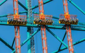 New Jersey Six Flags Address Zumanjaro Drop Of Doom Six Flags Great Adventure