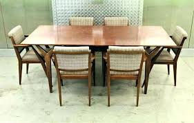 mid century expandable dining table mid century dining tables promotop info