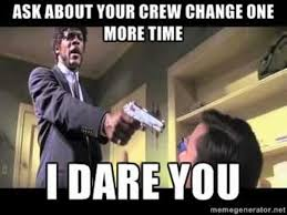 People Change Memes - crew change day product service 56 photos facebook