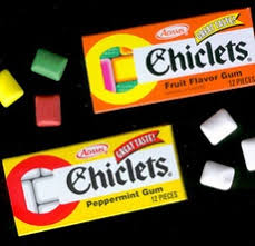 where to buy chiclets gum is like a box of chiclets geezer club