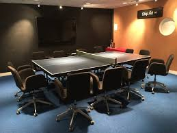 Office Boardroom Tables Office Hack 11 The Ping Pong Boardroom Table Envoy