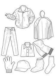 clothing coloring edupics colouring pages