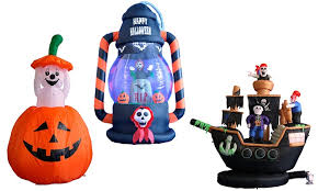 clearance halloween indoor or outdoor inflatables groupon