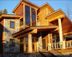 log home styles log post and beam