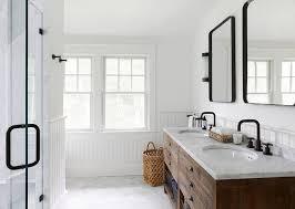 Flat Bathroom Mirror by Knockoff Restoration Hardware Bristol Flat Mirror Diy Modern