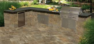 outdoor kitchen furniture kitchens cambridge pavingstones outdoor living solutions with