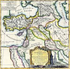 Biblical Map Of The Middle East by Canaan Wikipedia
