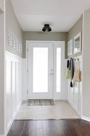 Hallway Paint Ideas by Wainscoting On One Wall It Is Possible Diy Pinterest Batten