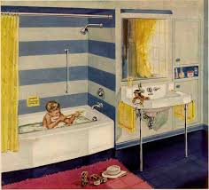 from daltile replicating alice s blue 50s bathroom tile floor 50s
