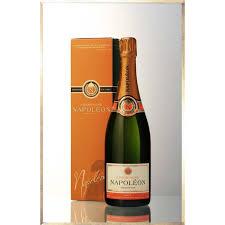 champagne transparent napoleon champagne cuvée tradition brut