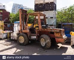 trucks for sale old heavy duty forklift trucks for sale at the junkyard stock