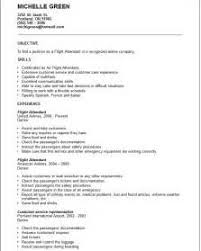 Flight Attendant Resume Objectives Examples Of Good Resume Objective Statements