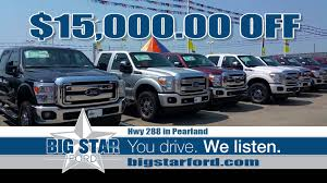 ford commercial commercial spot produced for big star ford in pearland texas