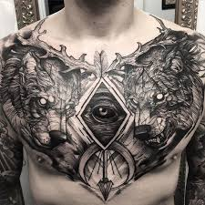 tattoo gallery chest pieces 16 best chest tattoos images on pinterest chest tattoo amazing