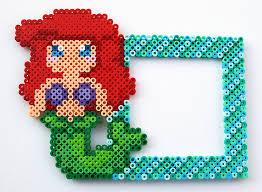 19 disney mermaid perler images