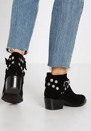 discount biker boots senso women ankle boots xyler ii cowboy biker boots ebony huge
