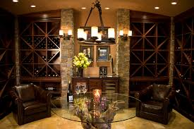 Wine Cellar Chandelier Wine Cork Chandelier Wine Cellar Mediterranean With Wood Work