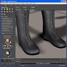 shoe design software shoe designer 3d software poser daz studio iclone philc