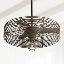 Ceiling Fan With Cage Light 32 Vintage 1 Light Bendlin Cage Ceiling Fan 1h576 1h578