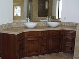 Ideas For Backsplash Included Bathroom Vanities Luxury Bathroom - Bathroom vanity backsplash ideas