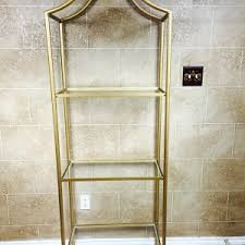 over the toilet etagere bathroom interesting bathroom etagere for your bathroom design