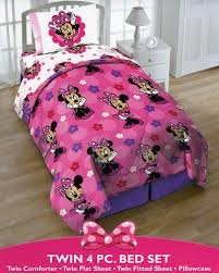 Minnie Mouse Bedding Canada by Minnie Mouse Twin Bedding Set Vnproweb Decoration