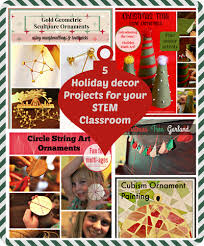 5 decoration projects for your stem classroom