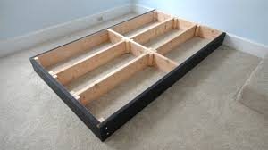 King Size Platform Bed With Storage Drawers Plans To Make King Size Platform Bed Inspirations With Drawers