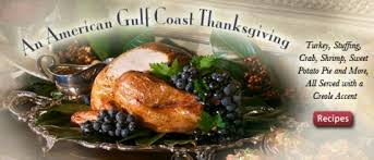 the food channel presents a gulf coast style thanksgiving feast