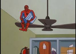 Spiderman Meme Generator - spiderman ceiling fan meme generator