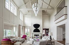 Chandelier For Cathedral Ceiling 24 Chic Spaces With Cathedral Ceilings Inspiration Dering Hall