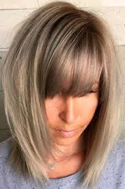 hairstyles blunt stacked a line bob haircut with bangs love the cut hair pinterest