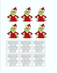 grinch tic tac labels dr seuss christmas ideas pinterest