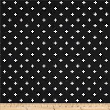 Home Decor Print Fabric Premier Prints Houndstooth Black White Discount Designer Fabric