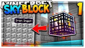 Challenge Fatality Iron Golem Spawner On The Server Minecraft Skyblock