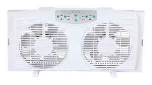 electrically reversible twin window fan optimus 8 electrically reversible twin window fan white f 5286