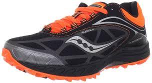 amazon com saucony men u0027s peregrine 3 running shoe black orange