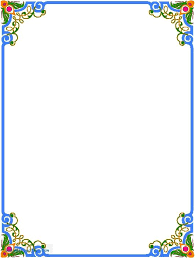 Flower Designs On Paper Beautiful Borders For Projects On Paper Free Download Clip Art